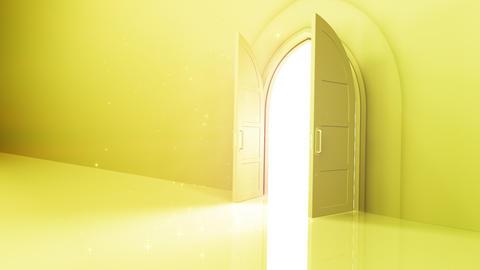 Door Opening CW R1 Fix2 HD Stock Video Footage
