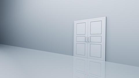 Door Opening DW R1 Fix2 HD Stock Video Footage