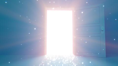 Door Opening SD L1 In2 HD Stock Video Footage