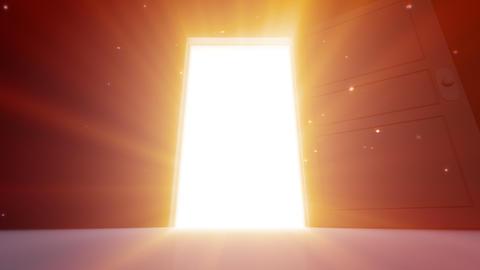 Door Opening SD M1 In2 HD Stock Video Footage
