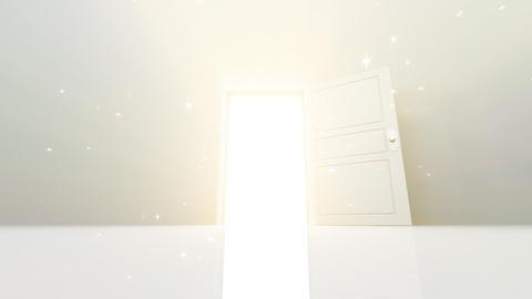 Door Opening SW M1 In2 HD Stock Video Footage