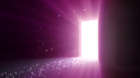 Door Opening SD R1 Fix2 HD Stock Video Footage