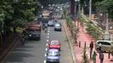 10705 indonesia jakarta city traffic wide real time Footage