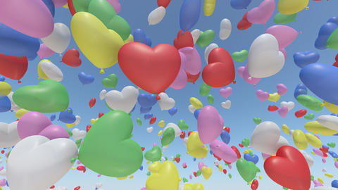 Door Opening Balloon CW F1 In3 HD Animation