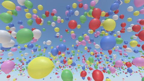 Door Opening Balloon DW F2 In3 HD Animation