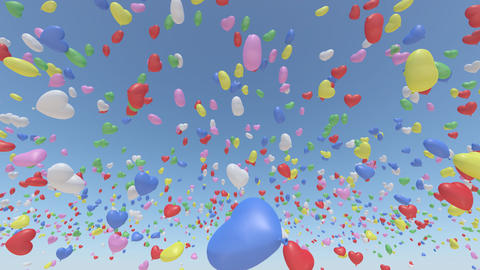 Door Opening balloon SD F1 In3 HD Animation