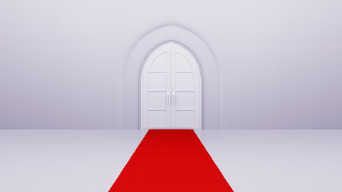 Door Opening Floor CW F1 In3b HD Stock Video Footage