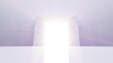 Door Opening Hanabi DW M1 In3 HD Stock Video Footage