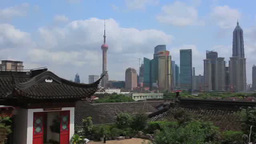 Buildings Of Shanghai stock footage