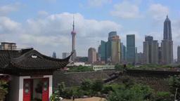 Buildings of Shanghai Footage