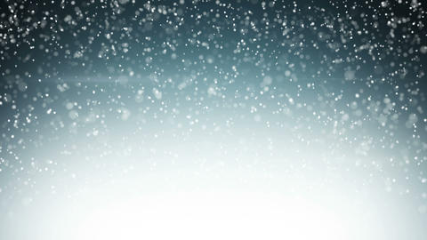 heavy snowfall seamless loop christmas background 4k (4096x2304) CG動画素材