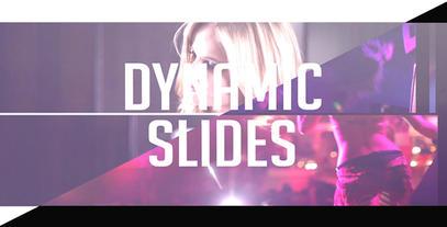 Dynamic Intro stock footage
