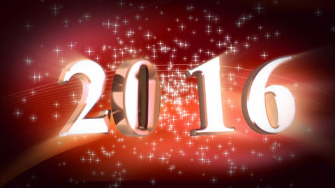New Year 2016 Animation