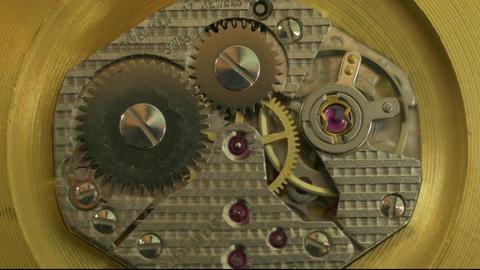 Clockwork motion close up Footage