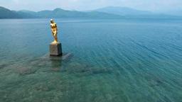 たつこ像と田沢湖 Footage
