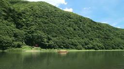白糸の滝と最上川と舟下り Footage
