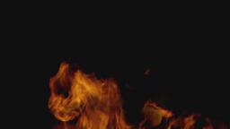 燃え上がる炎 Footage
