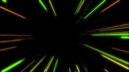 黄色と緑の前方に向かうスピード線 Footage