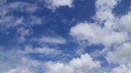 流れる雲の微速度撮影 Footage