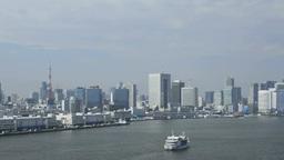 湾岸風景 stock footage