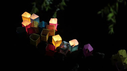 Floating lanterns Footage