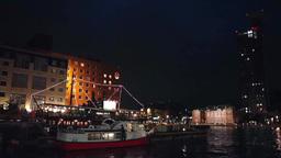 Moji Port retro area Footage