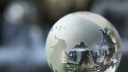 地球儀と川 Footage