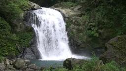 Waterfall in Urai, Taiwan Footage