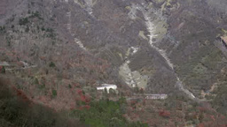 Iroha winding road in Nikko, Tochigi, Japan Footage