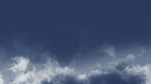 Beautifull blue sky turns into the dark skies Stock Video Footage