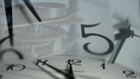 clock face Stock Video Footage