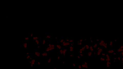 blood & plasma,splash red fluid,liquid & ink Animation