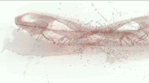 splash red fluid,blood & plasma,liquid & ink Stock Video Footage
