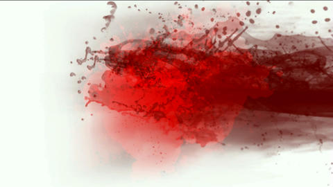 blood & plasma,splash red fluid,liquid & ink Stock Video Footage