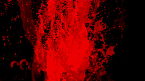 blood & plasma,splash red paint fluid,liquid & ink Stock Video Footage
