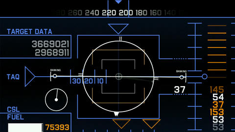 Radar GPS navigation screen display,computer game interface,hi-tech software pan Animation
