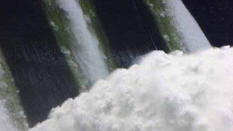 Spillway. 03 Stock Video Footage