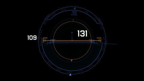 Radar GPS navigation screen display,computer game interface,tech software panel Animation