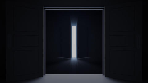 Door Opening loop DD F1 In HD Animation
