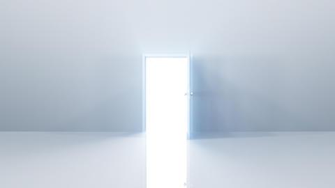 Door Opening loop SW F1 In HD Stock Video Footage