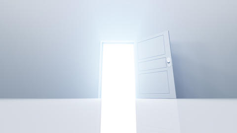 Door Opening loop SW M1 In HD Stock Video Footage