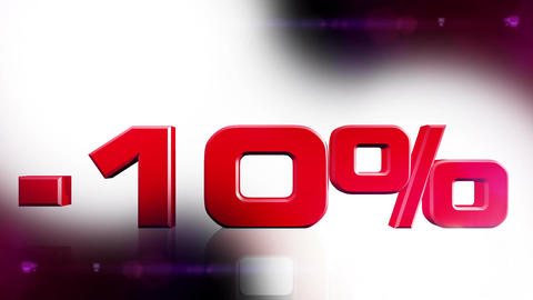 10 percent OFF 01 Stock Video Footage