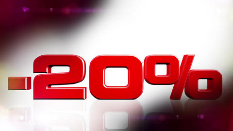 20 percent OFF 01 Stock Video Footage