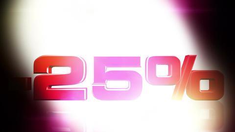 25 percent OFF 01 Stock Video Footage