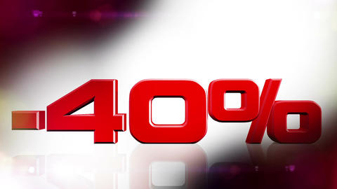 40 percent OFF 01 Stock Video Footage
