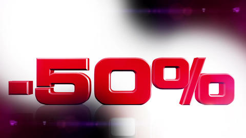 50 percent OFF 01 Stock Video Footage