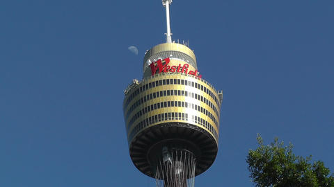 Centrepoint Sydney Tower 01 Stock Video Footage