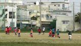 Elementary School Sport Center in Okinawa Islands Japan 04 football soccer Footage