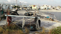 Fishing Port in Okinawa Islands 01 Stock Video Footage