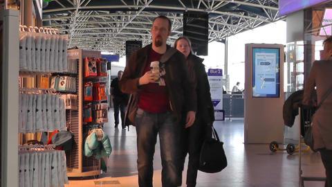 Helsinki Vantaa Airport 10 Stock Video Footage